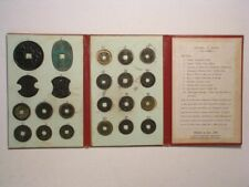 JAPAN-COIN COLLECTION #2 1500's-1800's  22 Coins in Red Folder - US SHIP ONLY