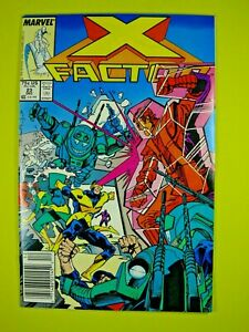 X-Factor #23 - 1st Cameo Appearance of Archangel - Newsstand - NM- - Marvel
