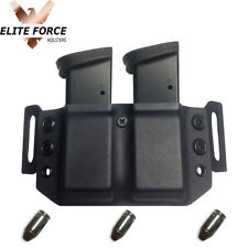 Kydex DUAL Holster For Ruger LC9, LC9S, & EC9S Magazines