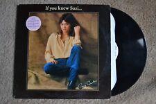Suzi Quatro If You Knew Suzi Punk WLP Promo Record lp original vinyl album