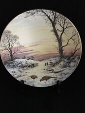 Royal Doulton Plate�Evening Glow� At Peace With Nature Elizabeth Gray 8 1/4�1984