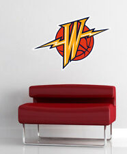 Golden State Warriors NBA Wall Decal Art Vinyl Sticker 11 x 17