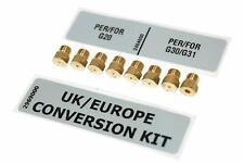Electrolux Zanussi Hob Universal LPG Gas Jet Conversion Kit (9 Jet Nozzles Inc)