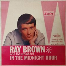 RAY BROWN & THE WHISPERS In The Midnight Hour AUSTRALIA EP Vinyl EP Record