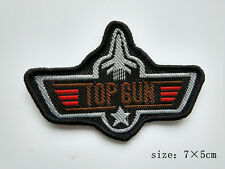 Badge US Navy Fighter Weapon Top Gun Sew On Jacket Sports Hat Bag