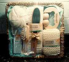 Brand New 8pc Bath Beauty Accessories - Gift of Nature
