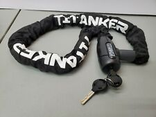 Titanker Bike Chain Lock, Security Anti-Theft Bike Lock Chain With Keys Bicycle