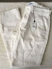 Express Finn Slim Fit Chino Pants Mens - Off White - Varied Sizes - NWT $49