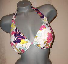 NWOT Victoria Secret 34D Push Up Halter Swimsuit Bikini Top