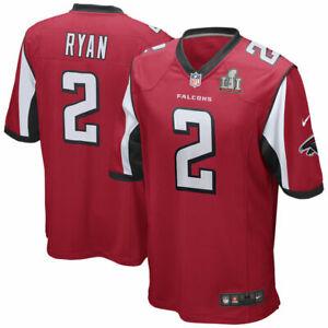 Matt Ryan Atlanta Falcons Super Bowl LI Nike Youth Team Game Jersey - Red