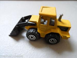 Majorette 1:87 #263 Yellow Tracto Bulldozer