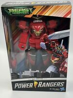 "Sabans Power Rangers Beast Morphers Beast Racer Zord 10"" Action Figure Toy New"