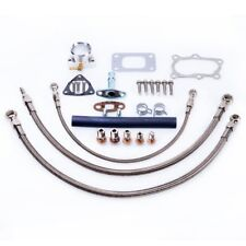 TRITDT Fits RB20DET Skyline Stock T3 Turbo Oil & Water Line Kit