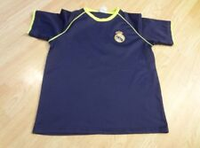 Youth Real Madrid XL Soccer Futbol Jersey (Navy w/Lime Green Trim) Jersey