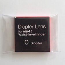 MAMIYA M645 / M645 Super 0 Diopter lens for Waist level finder