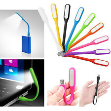 Mini Flexible USB LED Reading Light 9 Colors for Keyboard Notebook Laptop MAC PC