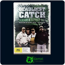 Deadliest Catch (DVD) Brand New & Sealed - Season 4- Fishing - TV - Region 4