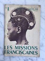 Catálogo N º 1 Enero-Febrero 1940 Las Misiones Franciscano