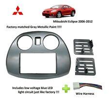 Radio Stereo Double Din Dash Install Kit Mount Bezel fits Mitsubishi Eclipse (Fits: Mitsubishi)