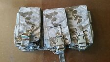 NEW Eagle Industries AOR1 MPCRP3 M4Triple Magazine Pouch MOLLE Navy SEAL