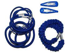 Royal Blue Elastic Hair Set