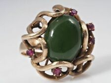 Echtschmuck-Ringe mit Rubin und Cabochon