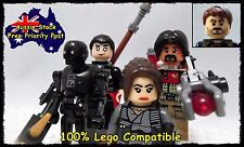 K-2SO 5 Minifigures Minifigure Star Wars Rouge One Fits lego