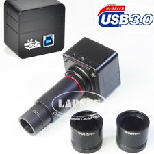 5MP USB 3.0 1080P 60FPS Digital Eyepiece Camera F Stereo Binocular Microscope AU