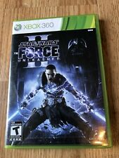 Star Wars: The Force Unleashed II (Microsoft Xbox 360, 2010) Nice Disk ES
