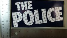 Older The Police Sticker. Vintage And Original. 3 1/4 X 6 1/2 Inches. Sting