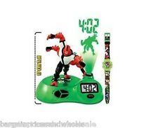 Officially Licensed Cartoon Network Ben 10 Watch & Projection Clock  Great Gift