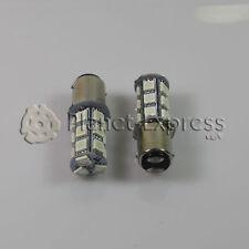 2 x Ampoules 18 LED SMD 5050 Couleur BLEU BA15D Voiture,Bateau,Maison,Caravane