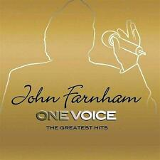 JOHN FARNHAM (ONE VOICE - GREATEST HITS 2CD SET SEALED + FREE POST)