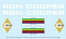 Ron Cooper Bicycle Decals-Transfers-Stickers #1