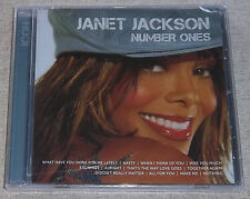 JANET JACKSON Number Ones [Icon series] SOUTH AFRICA Cat# BUD 1376 *SEALED*