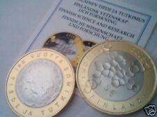 5 euro 2008 fdc FINLANDIA bimetallic Finland FINLANDE Suomi Fiinnland Финляндия