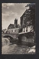 """MORET-sur-LOING (77) COMMERCE """"EPICERIE-MERCERIE & ARTICLES DE PECHE"""" en 1950"""