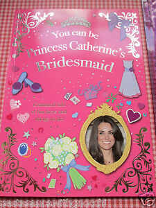 Royal Wedding 2011 Child's Activity Book Kate Middleton and Prince William Gift