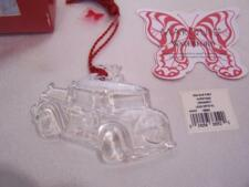 2004 Our First Christmas Ornament Marquis by Waterford Lead Crystal NIB