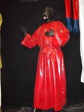 Latexkleid,Gummikleid,Fetisch,Gummirobe,Latexumhang,Kleid, 0,5 stark- S/M