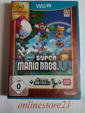 NEW SUPER MARIO BROS. U + New Super Luigi U Nintendo Wii U