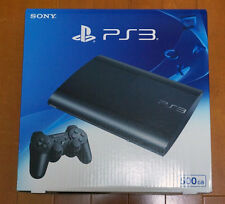 NEU Sony PS3 Playstation 3 500GB Console System Charcoal Black CECH 4300C Japan