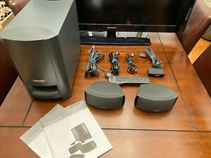 Bose CineMate Digital Home Theater System w/ Module, Cables, Remote, Manuals