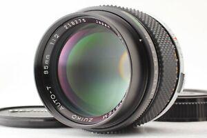 Late Model 【MINT】 Olympus OM F. Zuiko Auto-T 85mm f2 MF Lens from JAPAN