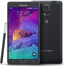 Unlocked Samsung Galaxy Note 4 32GB 4G LTE SM-N910A AT&T T-Mobile Phone Black