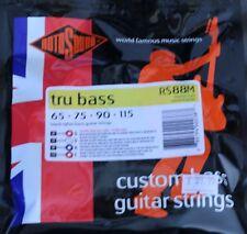 Rotosound RS88S Black Nylon Tru Bass Guitar Strings - Short Scale - 65-115 guage