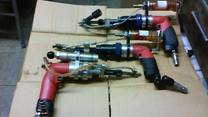 LOT OF 3, (2) MLBA & (1) MMLA SERIAL SIOUX BRAND Pneumatic Air Drill MADE IN USA