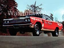 """Sox & Martin"" Ronnie Sox 1969 Plymouth Road Runner Super Stocker PHOTO! #(4)"