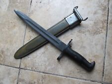 Excellent Condition WW2  US M1 Garand Bayonet & Scabbard, UFH MANUFACTURE