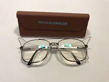 5c72cb9d628 Vintage Titmus EC550 AOSAFETY Eyeglasses Z87-2 56  18-145MM Gunmetal  PRISTINE